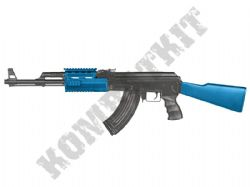 CM022A AK47 PMC Tactical Replica Electric Airsoft Rifle BB Machine Gun Black & 2 Tone